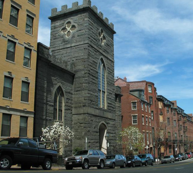St John the Evangelist, Boston, USA